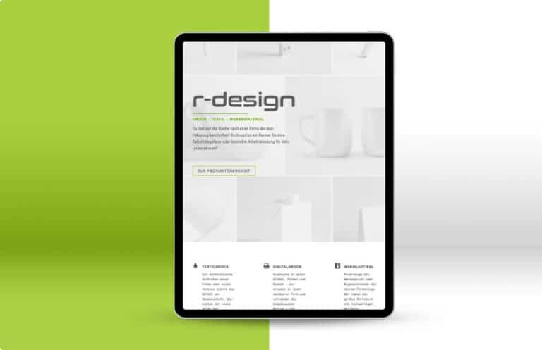 Alexander Moser Webdesign - Grafikdesign - R-Design Altmünster