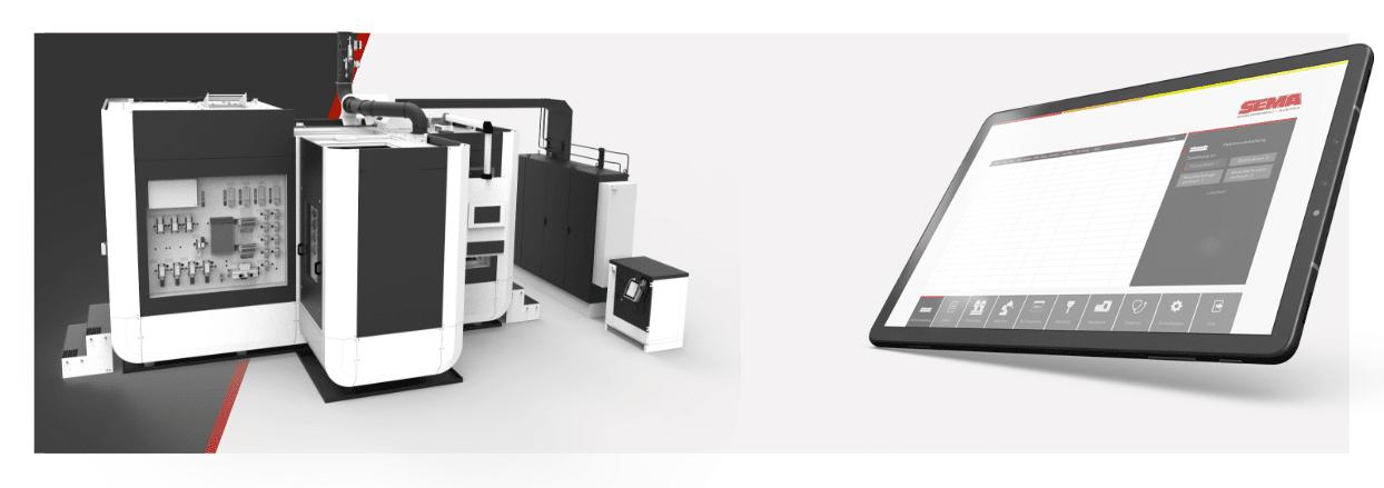 Alexander Moser HMI / HCI & Rendering SEMA Maschinenbau GmbH- moseralex. - Gmunden Altmünster - UX Design - Graphic Design - Grafikdesign
