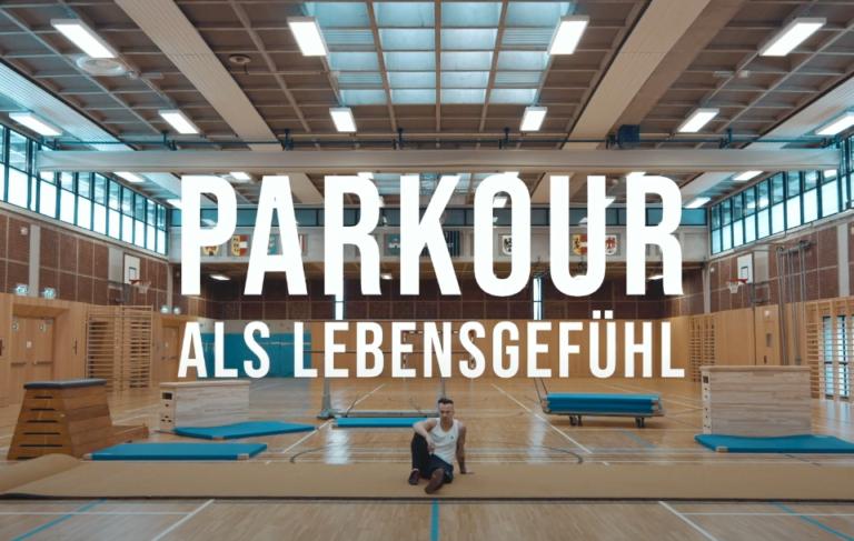 Dokumentation Parkour - by Alexander Moser, Thomas Jeindl, Katharina Zvetolec. Protagonist: Florian Ascher
