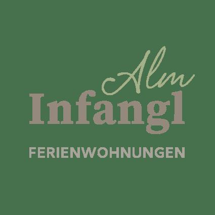 logo infanglAlm - Ferienwohnungen - mittendorfer josef - altmünster - traunkirchen - logo by alexander moser