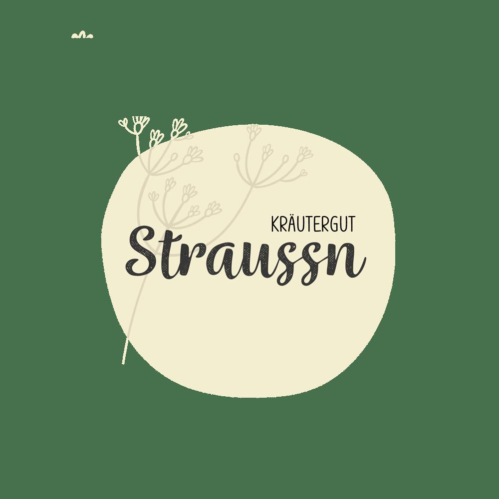 Alexander Moser - User Experience & Grafikdesign - Straussn-Kräutergut_Logo_